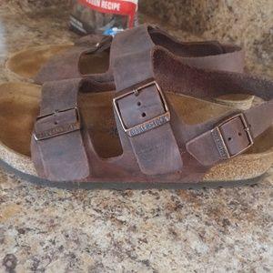 Birkenstock Milano Soft Footbed Size 38